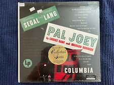 New listing Pal Joey cast album (LP 1973) Vivienne Segal, Rodgers & Hart, COL 4364 SEALED
