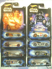 Set completo di 8 Hot Wheels Star Wars Ispirato A MACCHINE EPISODI 1-6 / CLONE /