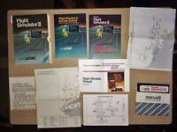 Flight Simulator II ©1983 subLOGIC Game for Commodore 64
