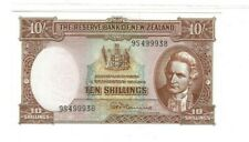 More details for new zealand 10 shilling note - ten - 1960-1967 - uncirculated