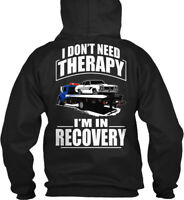 Roll Back Flatbed Tow/recover Left Chest - I'm In Gildan Hoodie Sweatshirt