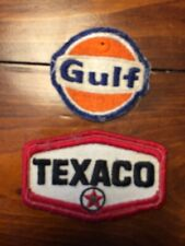 Gulf Texaco vintage patches. Free North American Shipping