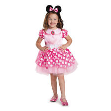 Minnie Mouse Disguise Clubhouse Classic Toddler Dressup Halloween Costume - 2T