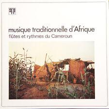 MUSIQUE TRADITIONNELLE D' AFRIQUE Flûtes Rythme Du Cameroun FR Press SFP 2011 LP