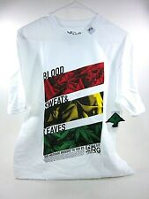 "LRG MEN'S ""BLOOD, SWEAT & LEAVES"" T-SHIRT, WHITE, MEDIUM, NEW"