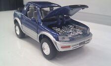 Toyota RAV4 Cabriolet Bleu Kinsmart Jouet Voiture Modèle 1/32