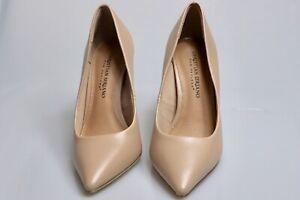 Christian Siriano Women's Habit Nude Pointed Toe Pump Heel Shoes