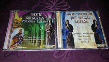 CD Mystic Gregorian/POP CHANSONS & Ballads-Album 2cds 1999