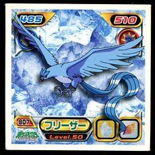 POKEMON STICKER Carte JAPANESE 50X50 2009 NORMAL N° 807 ARTICUNO ARTIKODIN