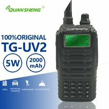 Quansheng TG-UV2 Powerful 5W Walkie Talkie VHF UHF Dual Band Ham Radio TG UV2