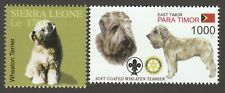 Soft Coated Wheaten Terrier * Int'l Dog Stamp Art Collection *Great Gift Idea