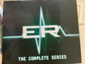 ER complete set DVD MTE 15 seasons in a large box 48-disks Region 2 double sided