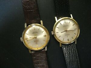 Lot of 2 Omega Automatic Seamaster De Ville Men's Watches