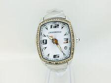 Orologio CHRONOTECH 7504LS Bianco brillanti donna acciaio 491vv14
