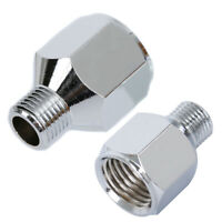Airbrush Hose Adaptor Connector Fitting 1/4 BSP Female to 1/8 BSP Male Tools