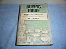 Vintage 1982 Itp Industrial Tool Products Buying Guide Book