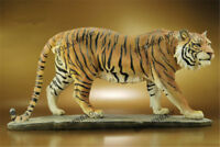 Tiger Statue Sculpture Figure Resin Collection Home Decoration 44cm Gifts Model