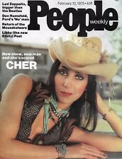 People Magazine February 10 1975   Cher  Led Zeppelin  New Mouseketeers