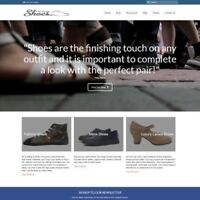SHOES Website Business For Sale - Work From Home Affliate Website Business