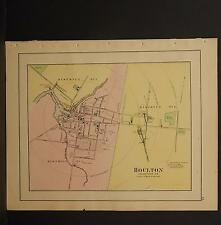 Maine, Antique Maps, 1899 City of Holton N3#47