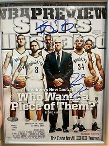 Kevin Garnett & Paul Pierce AUTO Signed Sports Illustrated Magazine Steiner Holo