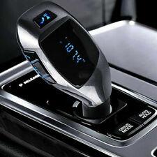 New X5 Car Cigarette Lighter Bluetooth Calling Fm Radio Transmitter Aux Usb Port
