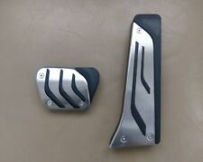 Bmw style foot pedals stainless 2 pieces to fit BMW