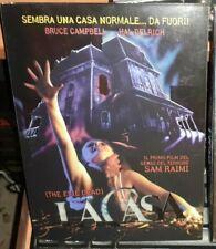 DVD FILM HORROR CULT MOVIE 80 SAM RAIMI,LA CASA THE EVIL DEAD 1,EDITION SLIPCASE