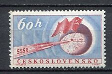 37080) CZECHOSLOVAKIA 1959 MNH** Soviet rocket on the moon
