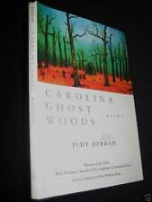 1st Edition CAROLINA GHOST WOODS Judy Jordan POEMS Poetry WHITMAN PRIZE