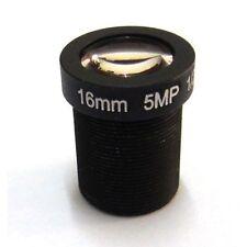 16mm x 5 Megapixel Obiettivo ideale per NV KIT e UK STOCK GRATIS 1st Classe Affrancatura