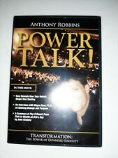 Anthony Robbins Power Talk! Transformation: The Power of Expanded Identity 2 CD