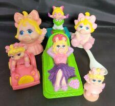 Vintage Muppets Miss Piggy Lot of 7 Toys.