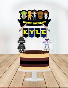 Star Wars, Star Wars Cake Topper, Star Wars Birthday, Star Wars Party Supplies