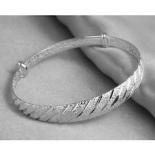 Silver Meteor Shower Bangle Bracelet Women Fashion Jewelry Gift Jian