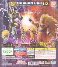 Dragon Ball Super VS Battle Figure 03 SSGSS Vegetto SS3 Son Goku Gotenks Freeza