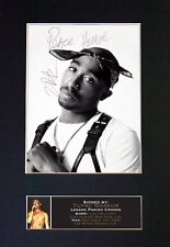 #664 TUPAC SHAKUR Reproduction Signed Signature/Autographed Photograph