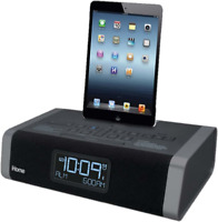 iHome Model HDL50 Bluetooth Speaker, Alarm, Radio, Charger (Bedtime Beats incl)
