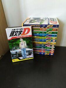 Initial d lot manga tome 1 à 15 manque 5 et 14 Série Rare FR