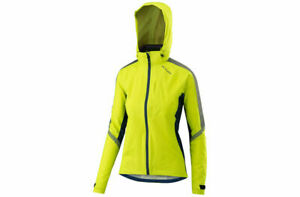 Altura Nightvision Women's Cyclone Cycling Jacket High Vis Viz Yellow New