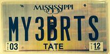 Vanity MY 3 BRATS license plate Children Family Kid Child Money Spoil