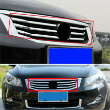 ABS Front Grille Mesh Vent Radiator Cover Chrome Trim Fit For Honda Accord 08-10