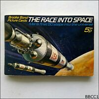 Brooke Bond Picture Cards The Race Into Space 1971 Complete Set (CCBB1)