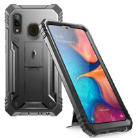 Full Coverage Shockproof Cover Case For Samsung Galaxy A20 (2019) Black