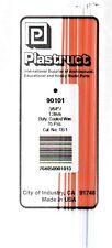 """Plastruct 90601 TB-1 Styrene 3/64"""" Round Tubing (15) pcs"""