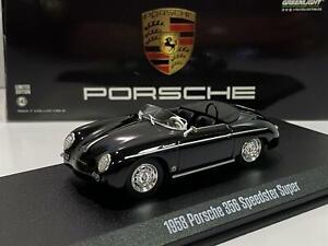 1958 Porsche Speedster Super Black Steve McQueen 1:43 Greenlight 86539