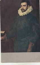BF33856 cassel tintoretto bildnis cines edelmannes  painting art front/back scan