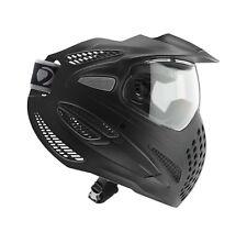 Dye SE Paintball Goggle System Black Mask Single Fog Resistant Lens NEW