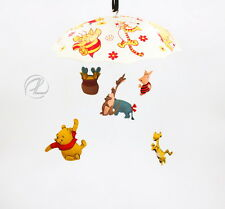 Crib Mobile Winnie The Pooh Musical Disney 1974 Vintage Sears Collectible GRT