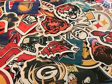 100 sport Color Die-Cut Decal / Car Sticker *Free Shipping baseball football lot